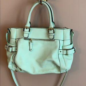 Merona mint green handbag